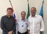 Assessor do HC de Marília visita prefeito e secretário da Saúde
