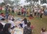 Mamaço no Parque Buracão reúne adeptos ao aleitamento materno